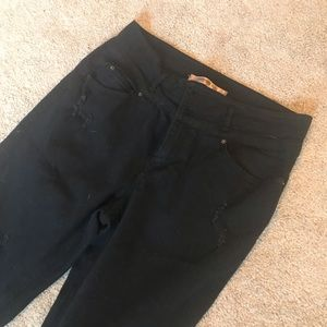 Highway Jeans Black Juniors SZ 11/12